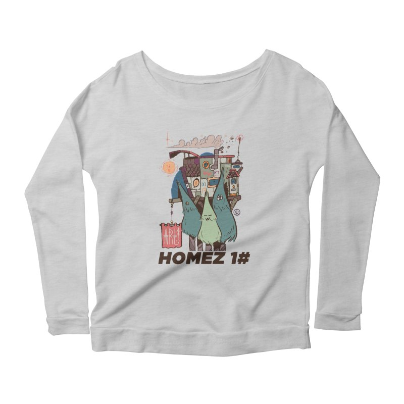 Forpe Goes Homez Women's Longsleeve Scoopneck  by forpe's Artist Shop