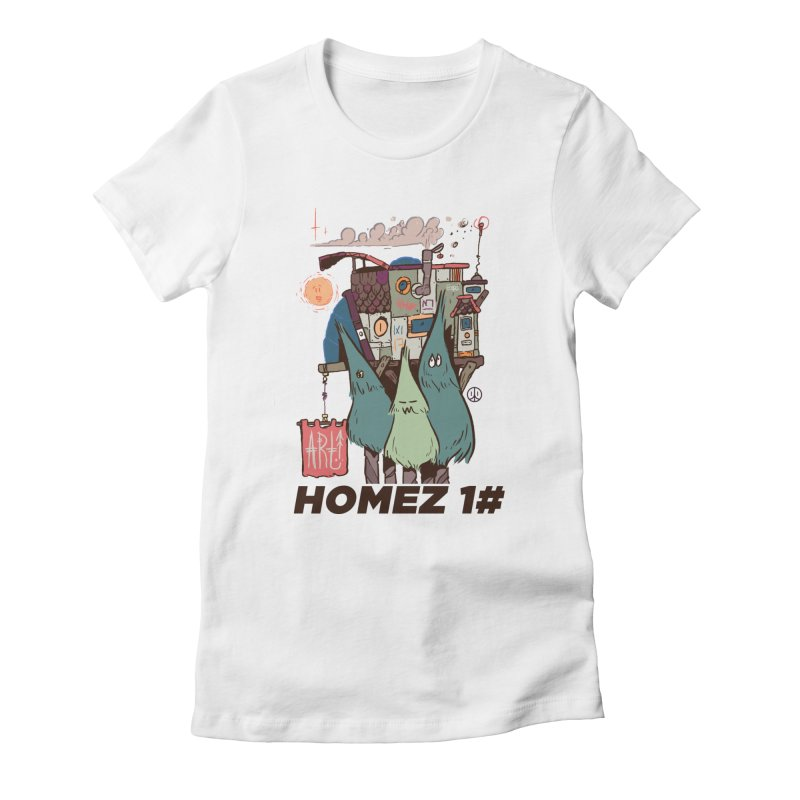 Forpe Goes Homez Women's Fitted T-Shirt by forpe's Artist Shop