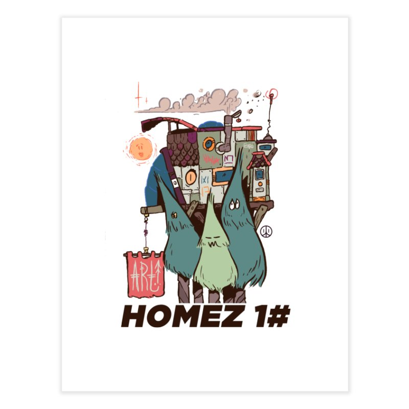 Forpe Goes Homez Home Fine Art Print by forpe's Artist Shop
