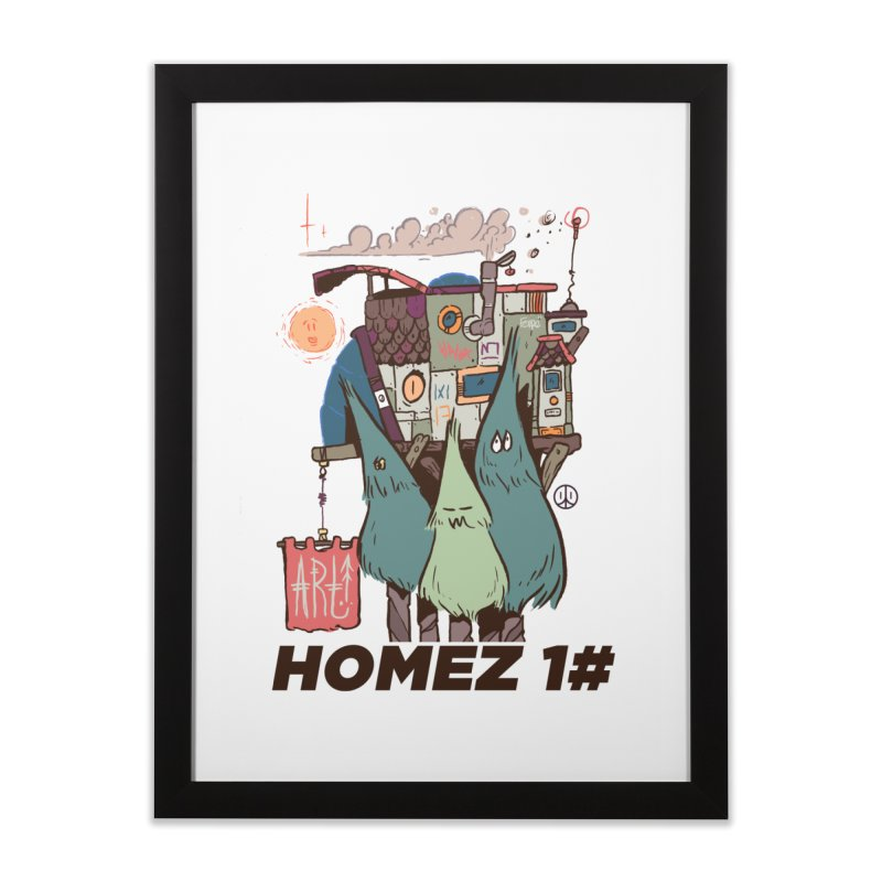 Forpe Goes Homez Home Framed Fine Art Print by forpe's Artist Shop
