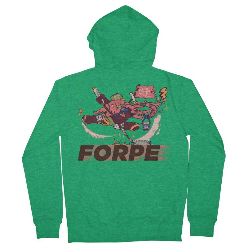 Kung Fu Forpe Men's Zip-Up Hoody by forpe's Artist Shop