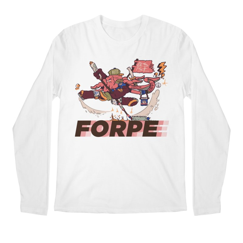 Kung Fu Forpe Men's Longsleeve T-Shirt by forpe's Artist Shop