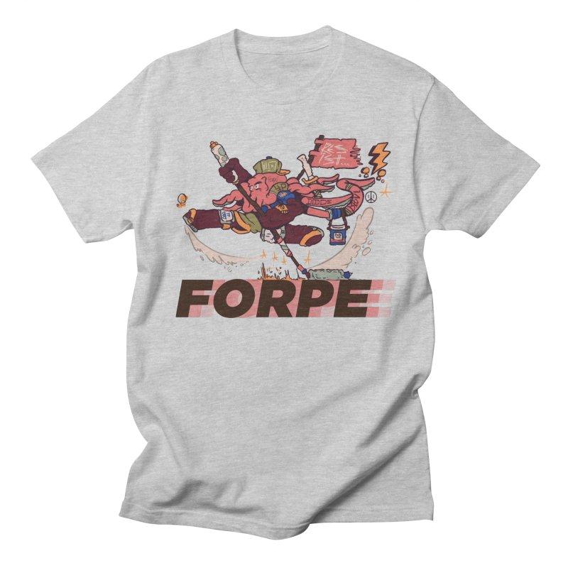 Kung Fu Forpe Men's Regular T-Shirt by forpe's Artist Shop