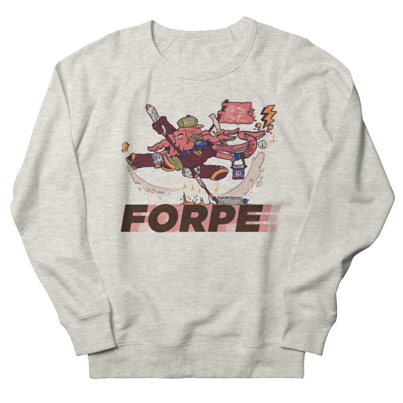 Kung Fu Forpe Men's French Terry Sweatshirt by forpe's Artist Shop