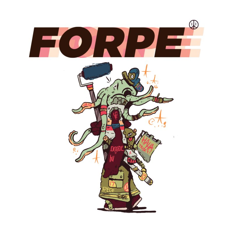 A Wandering Forpe Women's Fitted T-Shirt by forpe's Artist Shop
