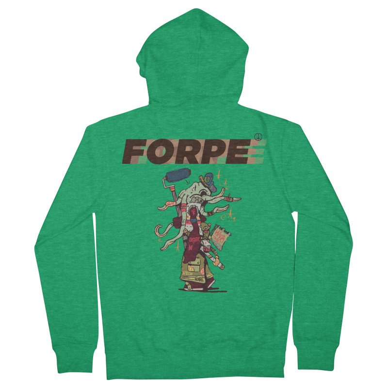 A Wandering Forpe Men's Zip-Up Hoody by forpe's Artist Shop