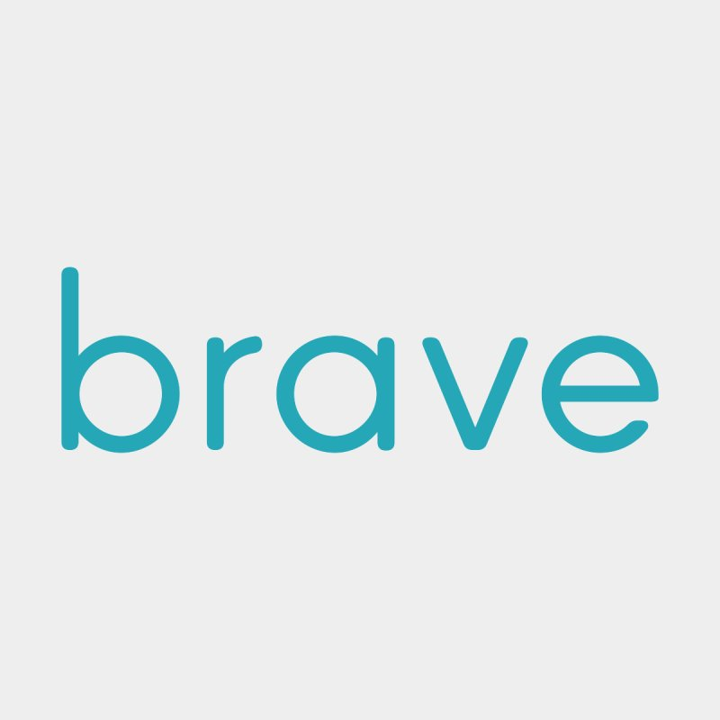 brave, kid's tee by for woman kind's Artist Shop
