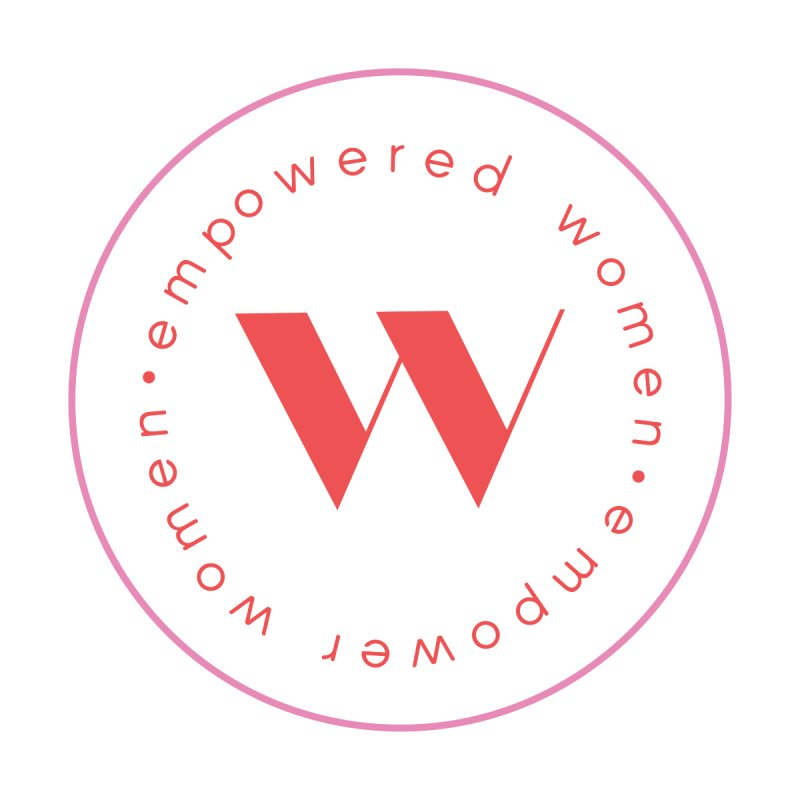 empowered women, empower women seal sticker by for woman kind's Artist Shop