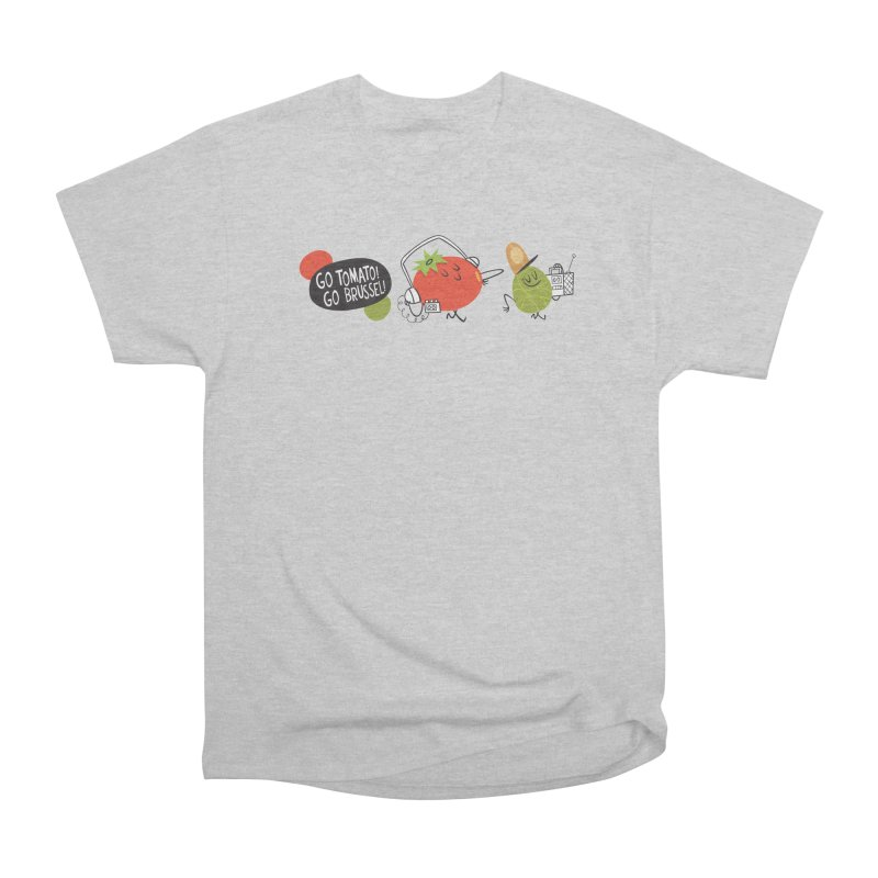 Go Tomato! Go Brussel! Men's Classic T-Shirt by Foster Animation's Artist Shop