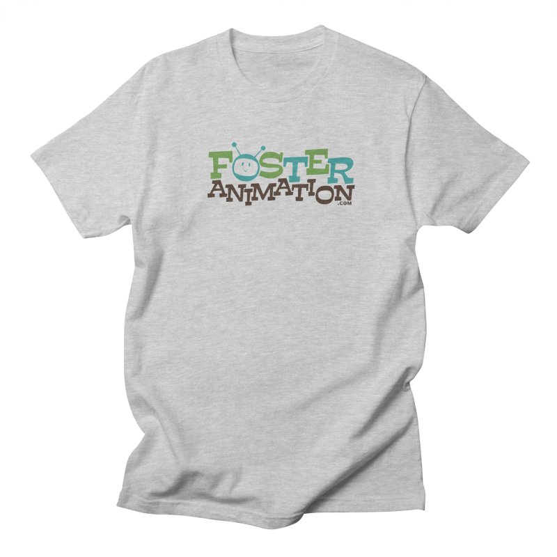Foster Animation Logo Men's T-shirt by Foster Animation's Artist Shop