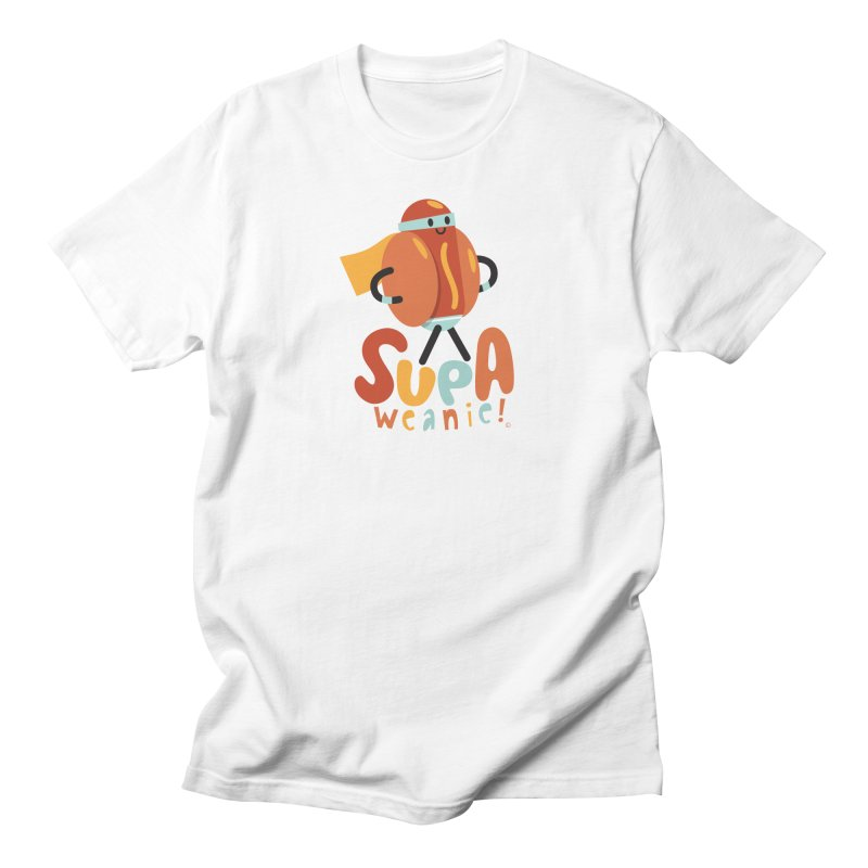 Supa Weanie! Men's T-shirt by Foster Animation's Artist Shop