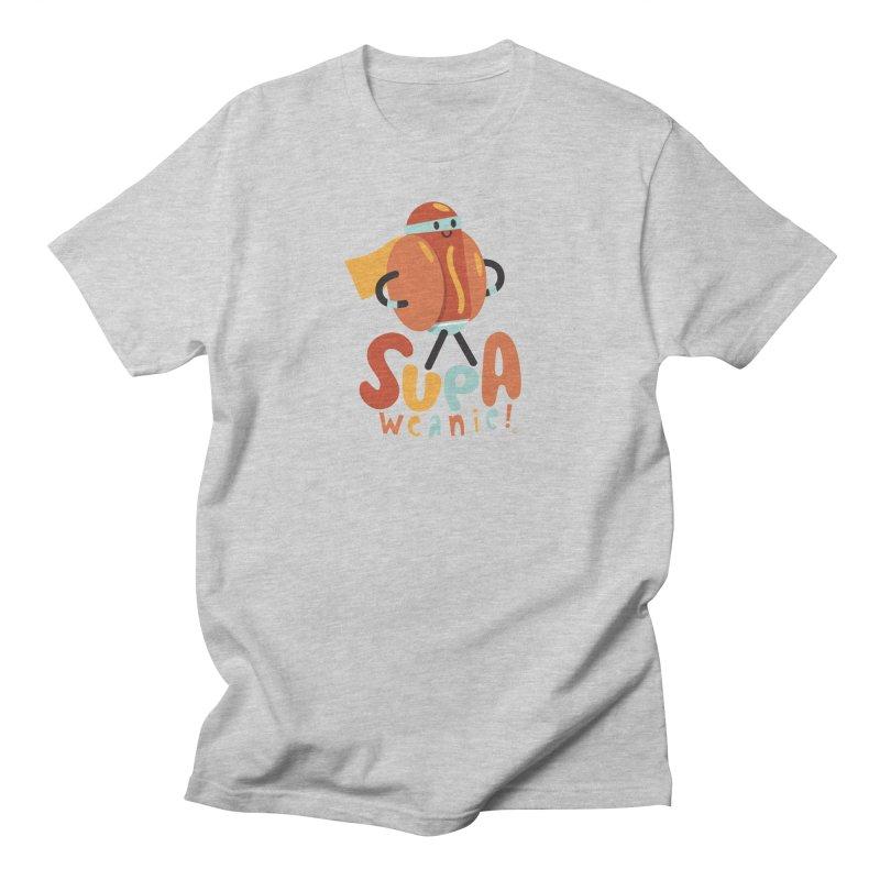 Supa Weanie! Men's T-Shirt by Foster Animation's Artist Shop