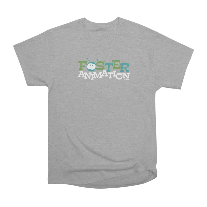 Foster Animation Logo (Dark Shirts) Men's Classic T-Shirt by Foster Animation's Artist Shop