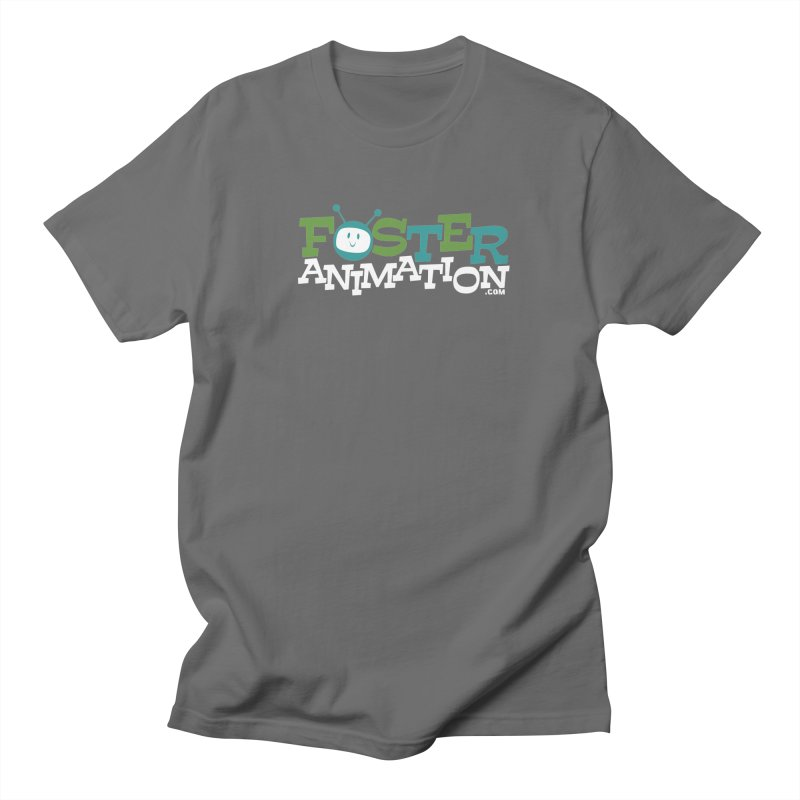 Foster Animation Logo (Dark Shirts) Men's T-shirt by Foster Animation's Artist Shop
