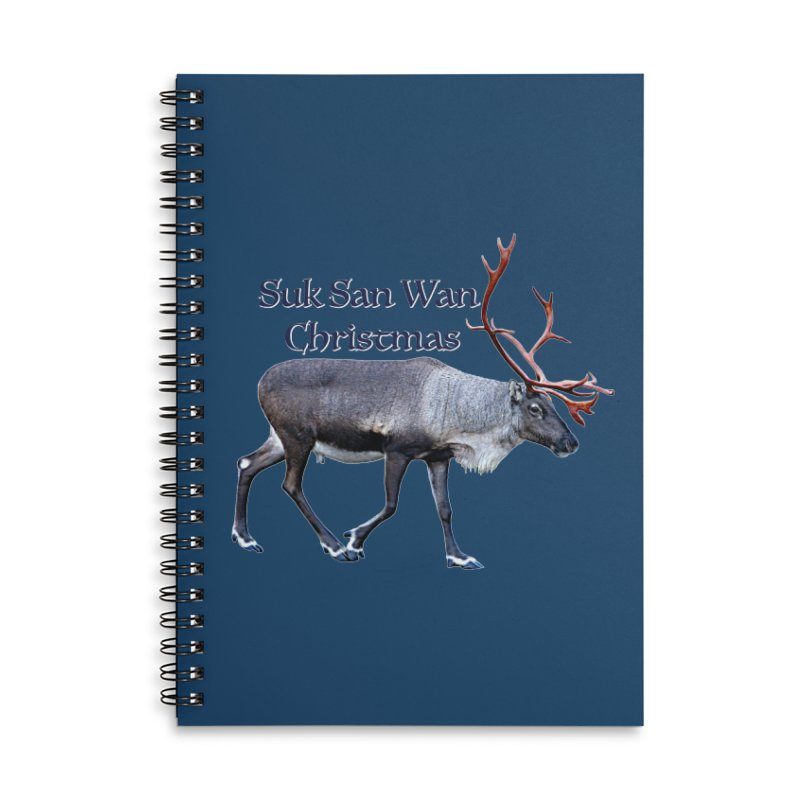 Merry Christmas Accessories Notebook by FotoJarmo's Shop