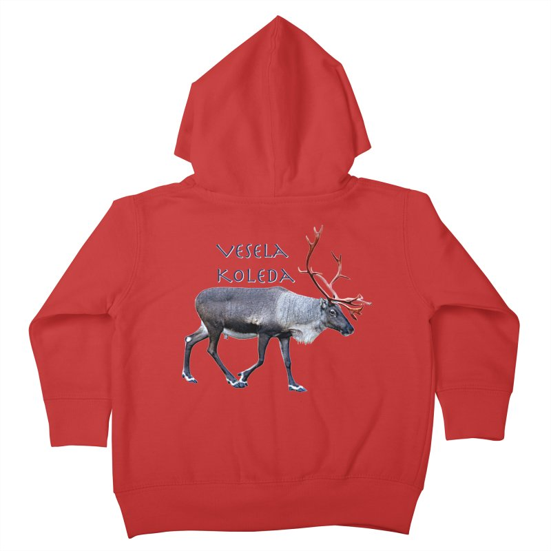 Merry Christmas Kids Toddler Zip-Up Hoody by FotoJarmo's Shop