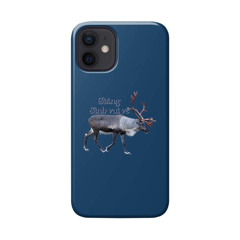 Merry Christmas Accessories Phone Case by FotoJarmo's Shop