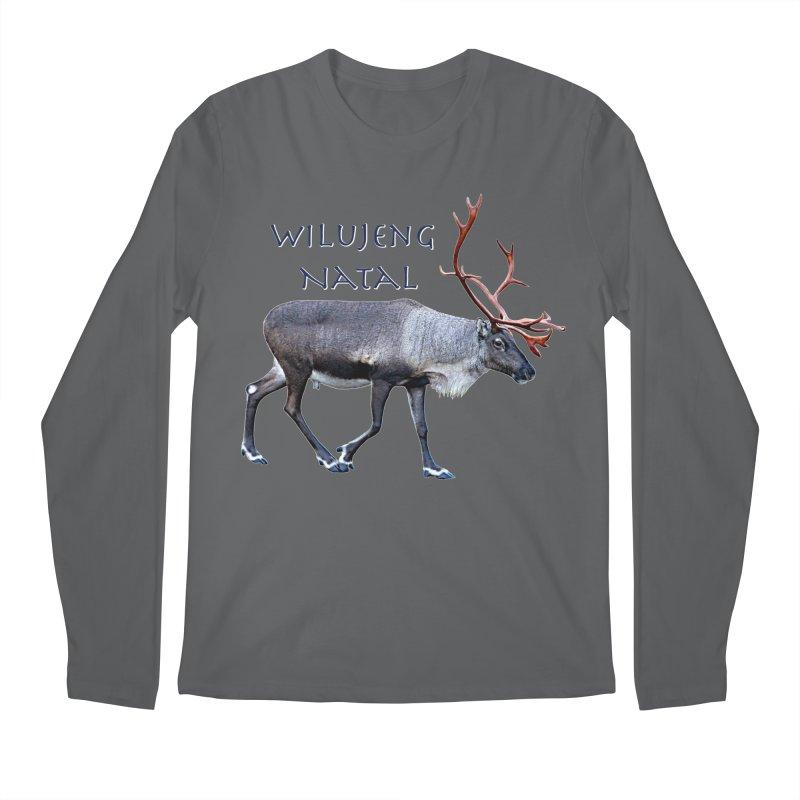 Merry Christmas Men's Longsleeve T-Shirt by FotoJarmo's Shop