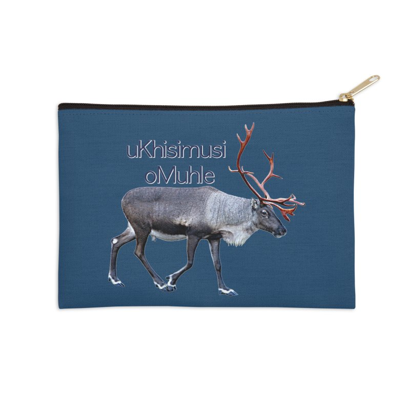 Merry Christmas Accessories Zip Pouch by FotoJarmo's Shop