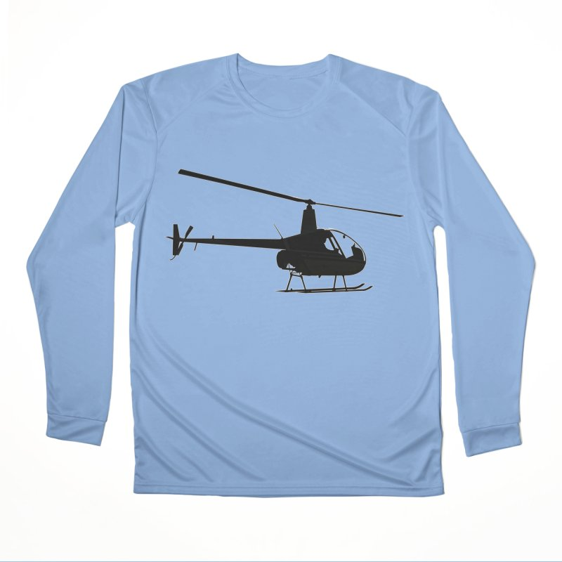 Robinson R22 Men's Longsleeve T-Shirt by FotoJarmo's Shop