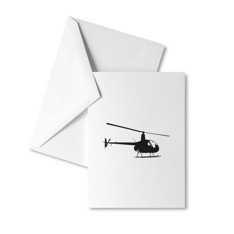 Robinson R22 Accessories Greeting Card by FotoJarmo's Shop