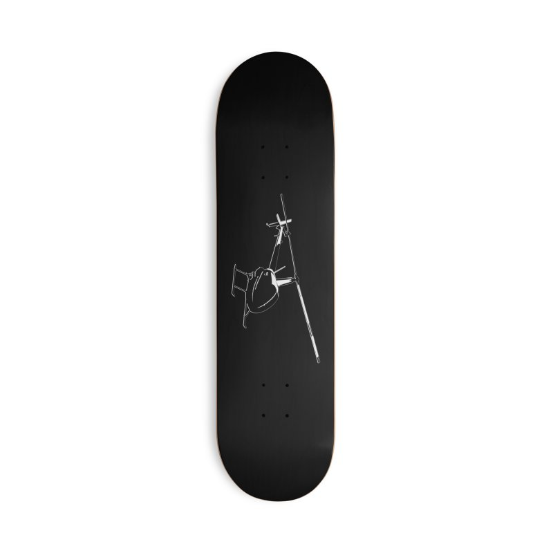 Robinson R22 Accessories Skateboard by FotoJarmo's Shop