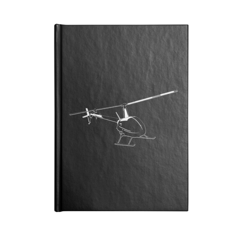 Robinson R22 Accessories Notebook by FotoJarmo's Shop