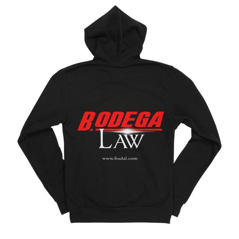 Bodega Law Women's Sponge Fleece Zip-Up Hoody by foulal's Artist Shop