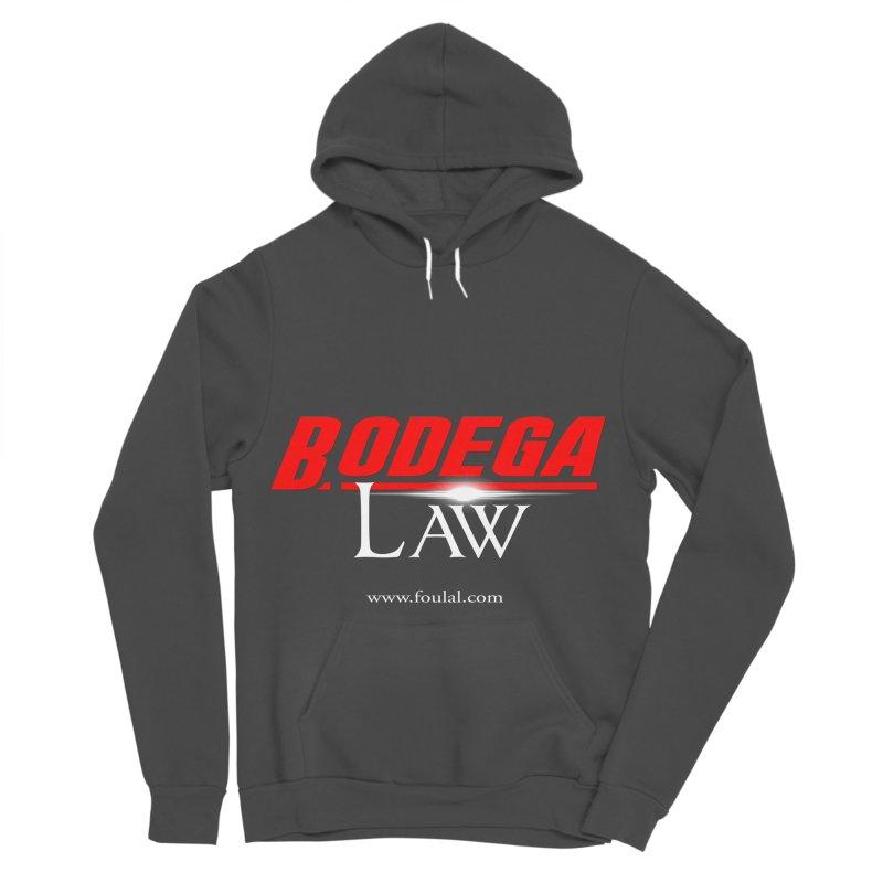 Bodega Law Men's Sponge Fleece Pullover Hoody by foulal's Artist Shop