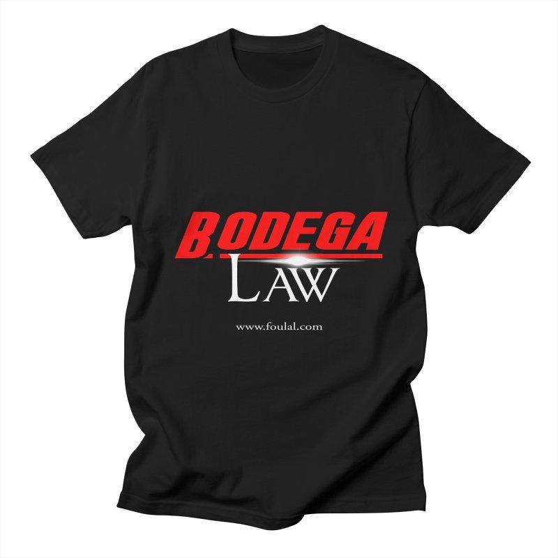 Bodega Law Men's Regular T-Shirt by foulal's Artist Shop
