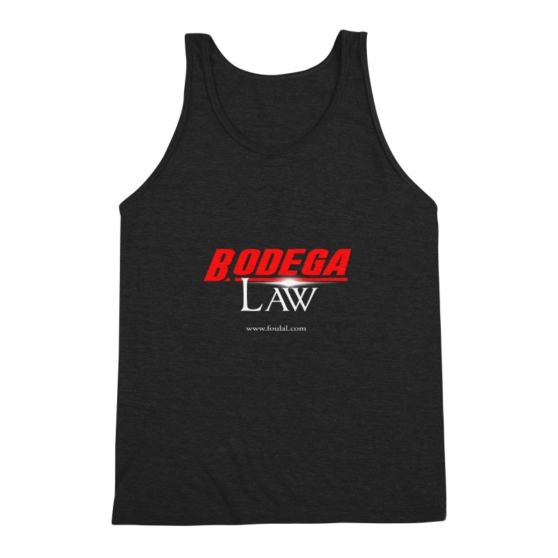 Bodega Law Men's Triblend Tank by foulal's Artist Shop