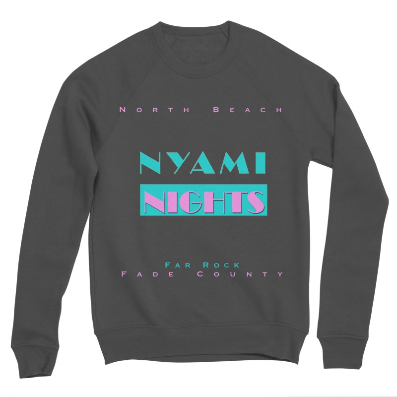 NYami Nights Women's Sponge Fleece Sweatshirt by foulal's Artist Shop