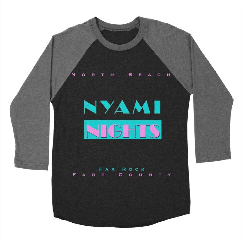 NYami Nights Women's Baseball Triblend Longsleeve T-Shirt by foulal's Artist Shop