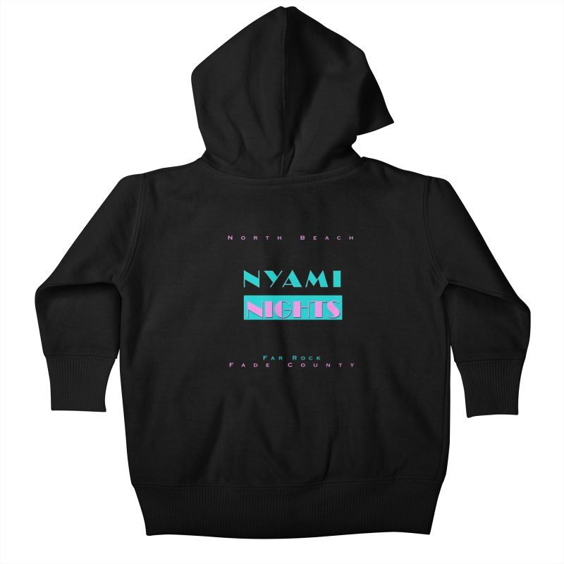 NYami Nights Kids Baby Zip-Up Hoody by foulal's Artist Shop