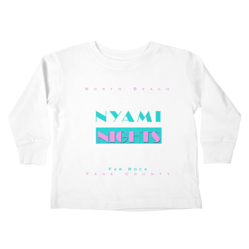 NYami Nights Kids Toddler Longsleeve T-Shirt by foulal's Artist Shop