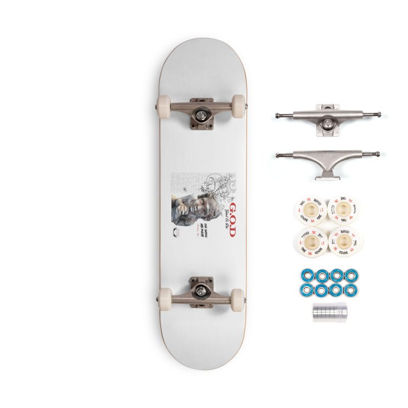 G.O.D (Grind Or Die) Accessories Complete - Premium Skateboard by foulal's Artist Shop