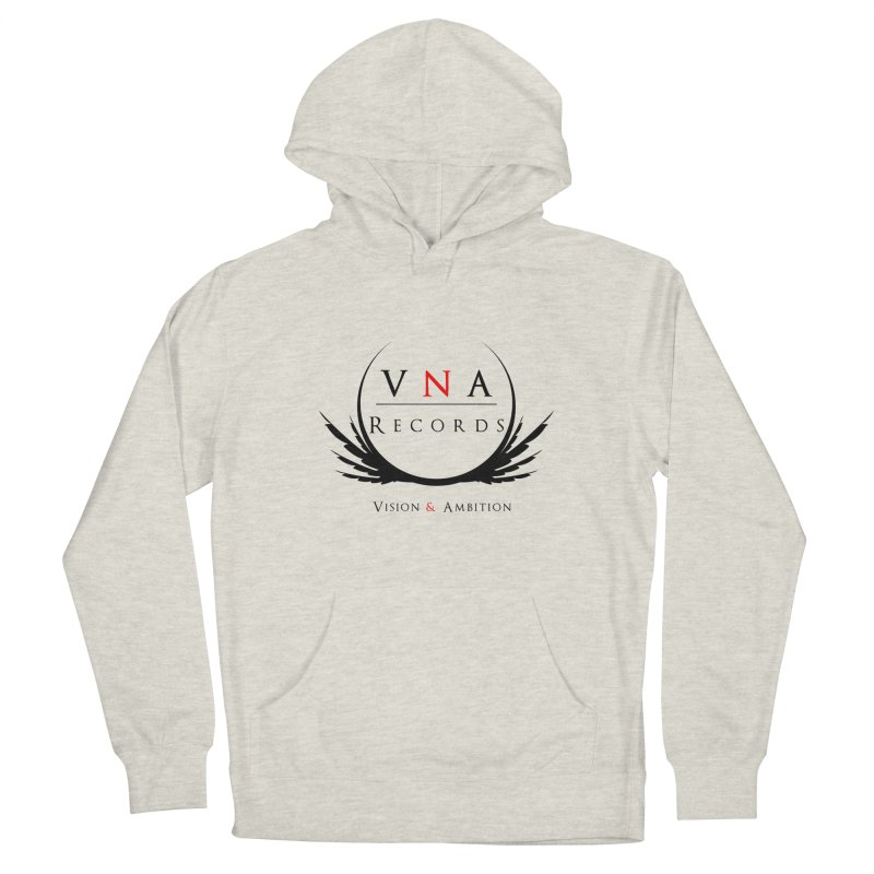 VNA Records White Women's French Terry Pullover Hoody by foulal's Artist Shop