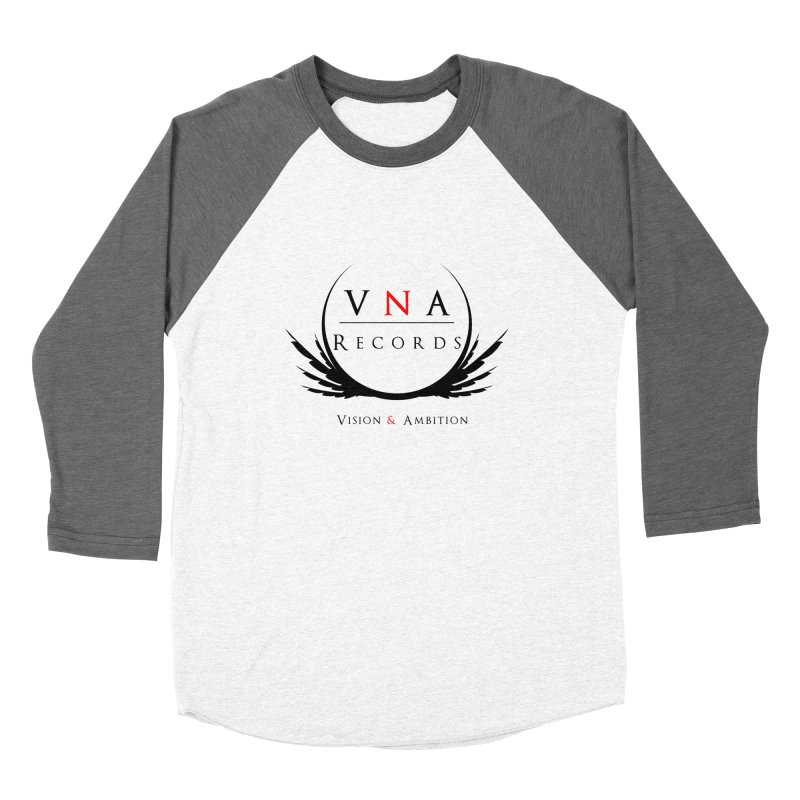 VNA Records White Women's Baseball Triblend Longsleeve T-Shirt by foulal's Artist Shop