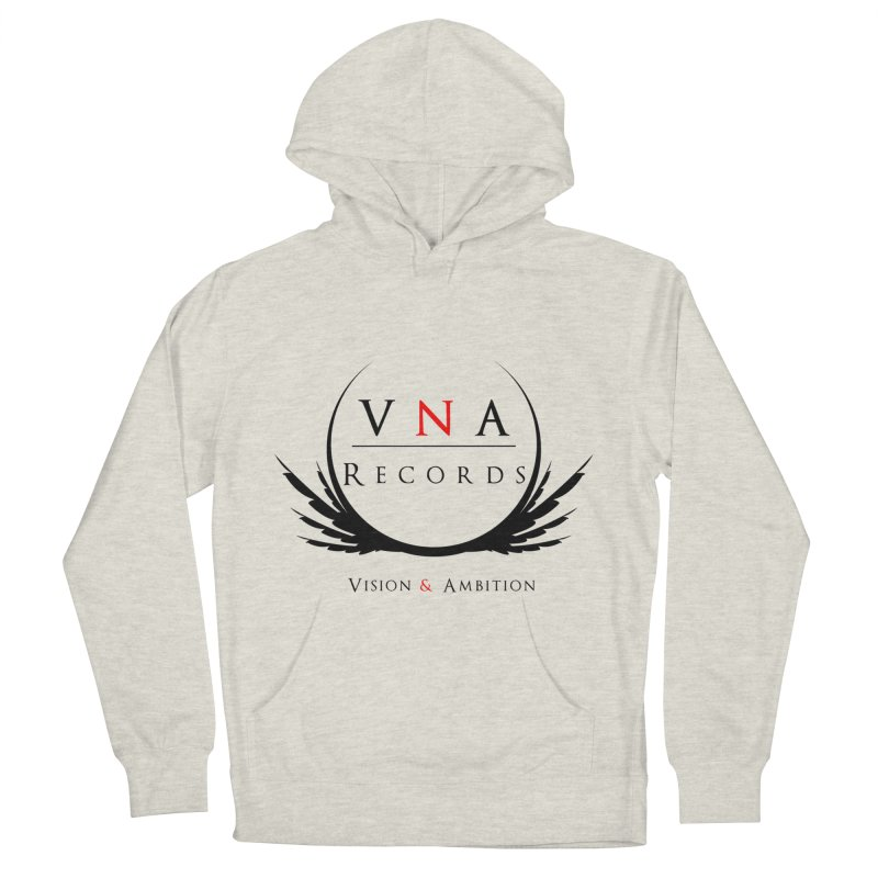 VNA Records White Men's French Terry Pullover Hoody by foulal's Artist Shop
