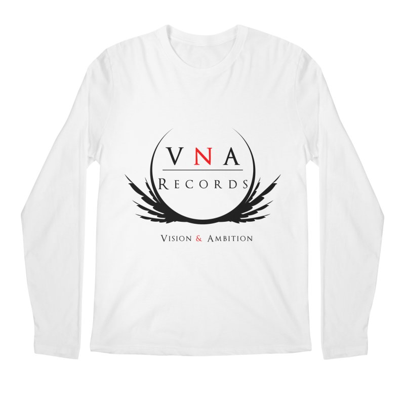 VNA Records White Men's Longsleeve T-Shirt by foulal's Artist Shop