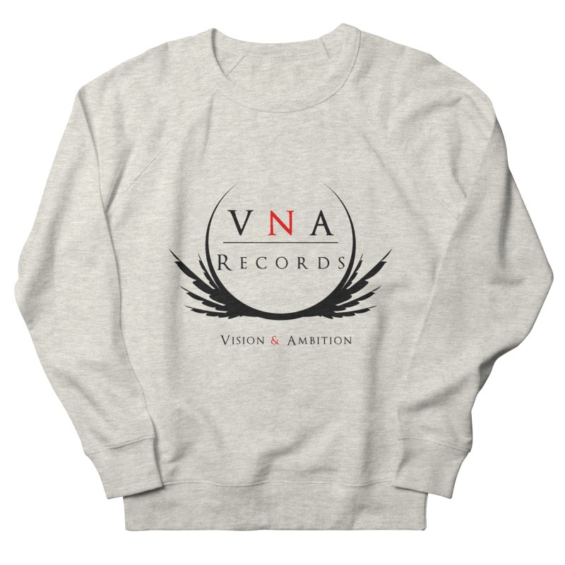 VNA Records White Men's French Terry Sweatshirt by foulal's Artist Shop