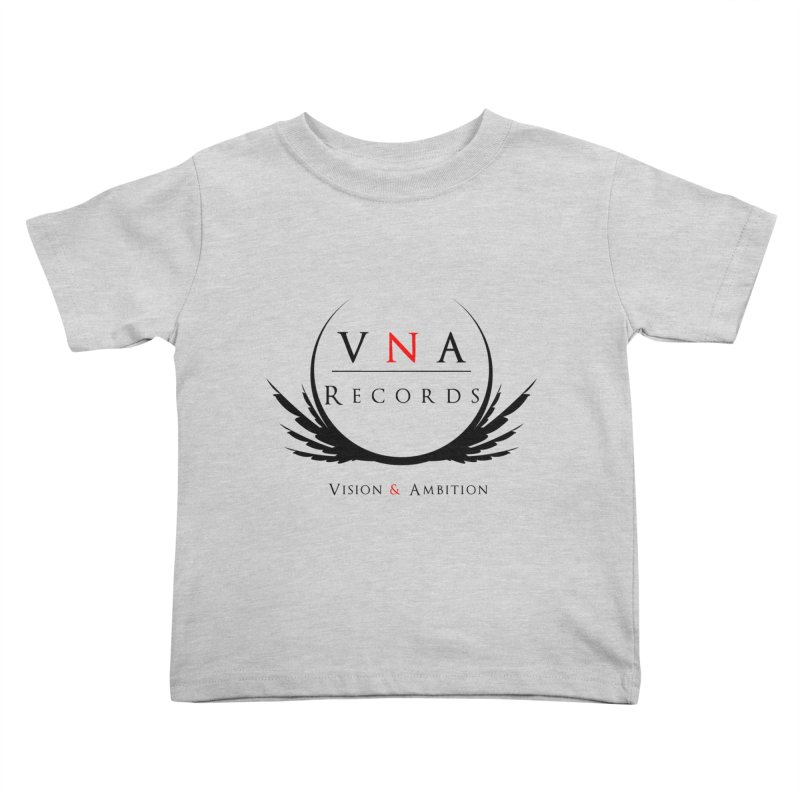 VNA Records White Kids Toddler T-Shirt by foulal's Artist Shop