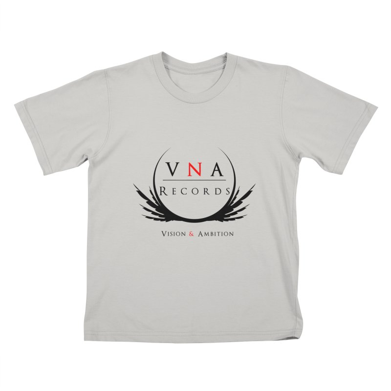 VNA Records White Kids T-Shirt by foulal's Artist Shop