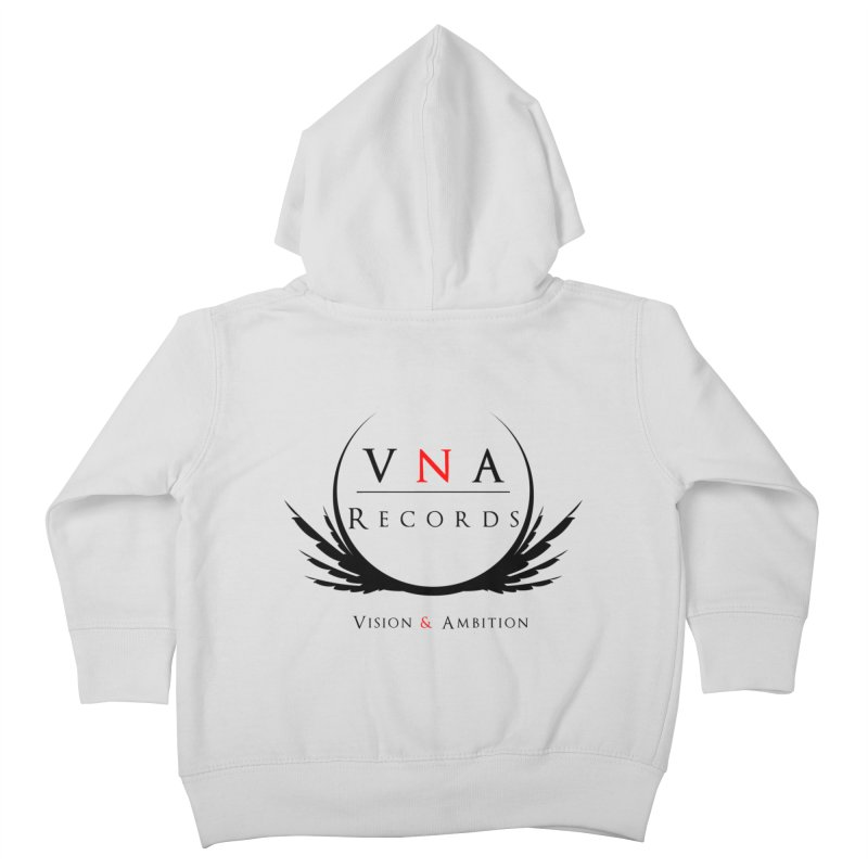 VNA Records White Kids Toddler Zip-Up Hoody by foulal's Artist Shop