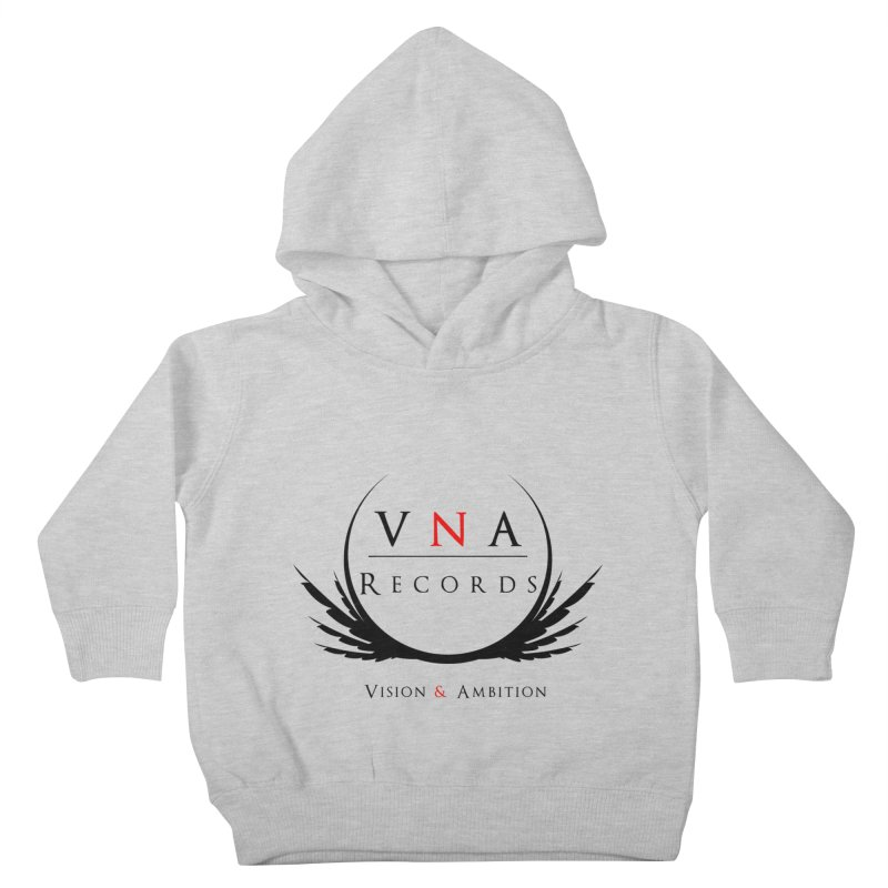 VNA Records White Kids Toddler Pullover Hoody by foulal's Artist Shop