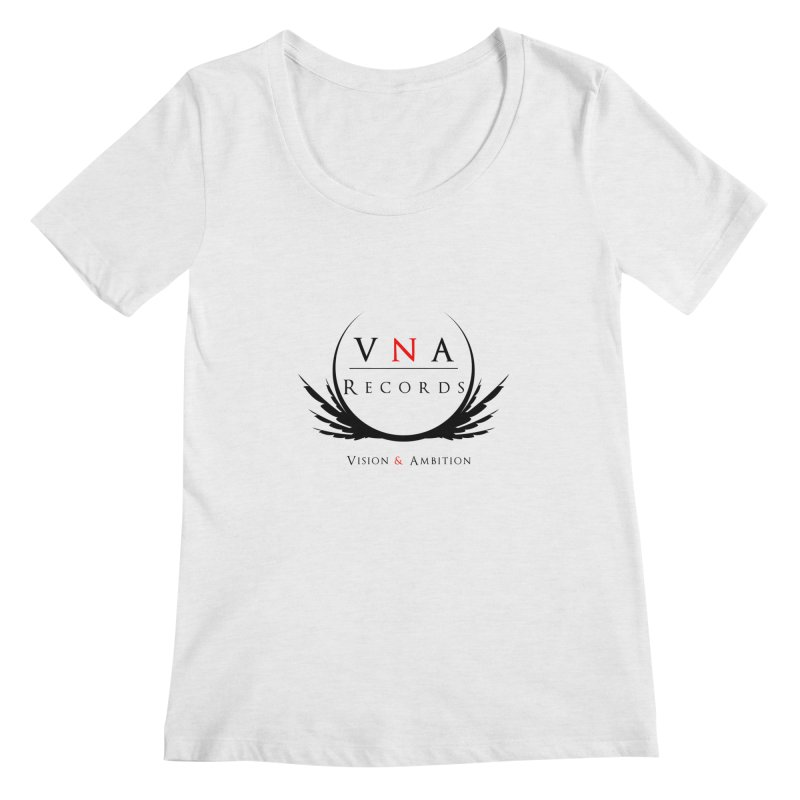 VNA Records White Women's Regular Scoop Neck by foulal's Artist Shop
