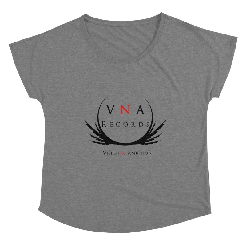 VNA Records White Women's Dolman Scoop Neck by foulal's Artist Shop