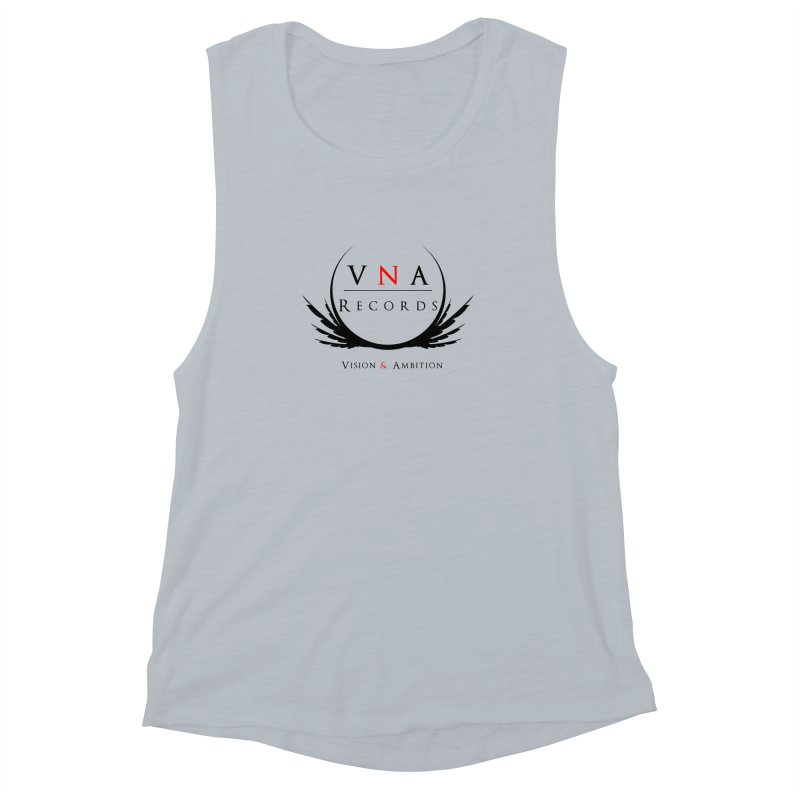 VNA Records White Women's Muscle Tank by foulal's Artist Shop