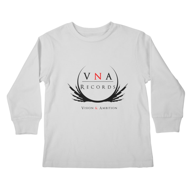 VNA Records White Kids Longsleeve T-Shirt by foulal's Artist Shop