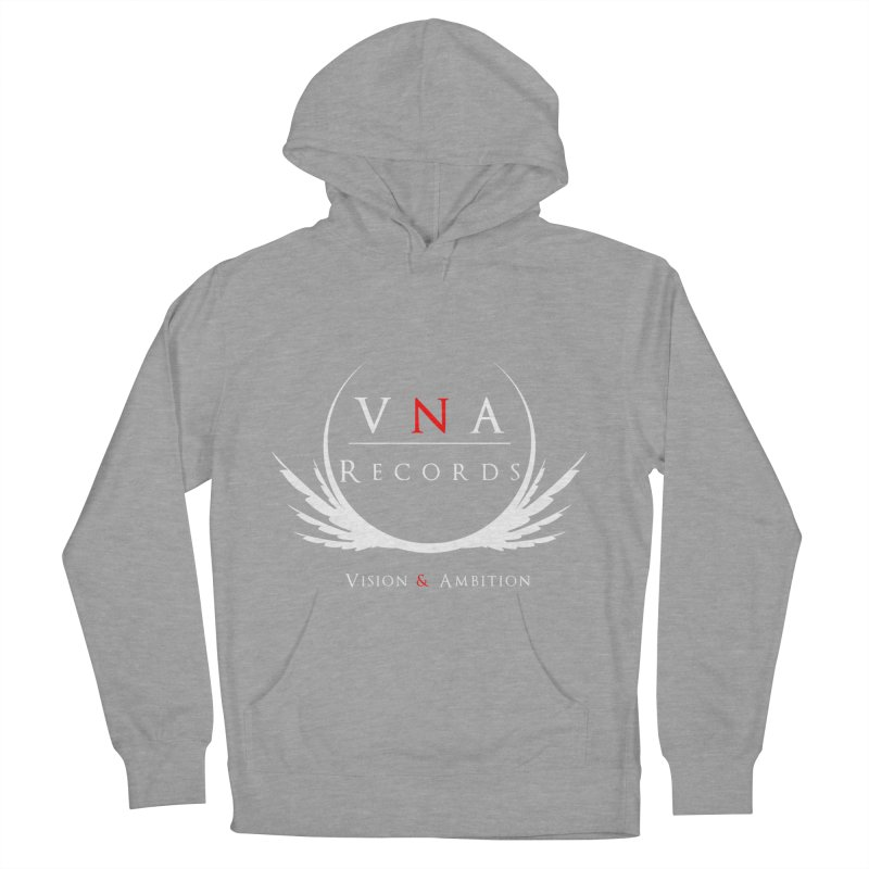 VNA Records Tee Black Women's Pullover Hoody by foulal's Artist Shop